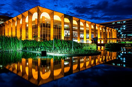 Itamaraty Palace, the seat of the Ministry of Foreign Affairs Brasilia-2.jpg