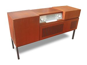 Herbert Hirche - Music cabinet Braun HM 6-81, 1958