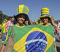 Brazil and Croatia match at the FIFA World Cup (2014-06-12; fans) 07.jpg
