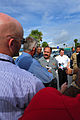 Brazilian Rear Adm. Wilson Pereira de Lima Filho speaks to local media during a Panamax 2012 military exercise media conference at Naval Station Mayport, Fla., Aug. 6, 2012 120806-N-MK583-059.jpg