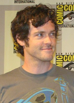 Brendan Hines - At the 2009 San Diego Comic-Con
