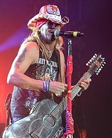 Michaels performing in 2019