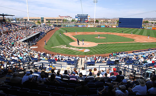 Brewers at Padres in spring training 2007-03-21 2