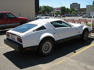 Bricklin SV-1 - Rear