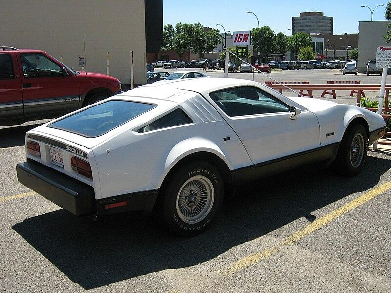 Bricklin Sports Car For Sale