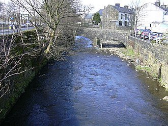 Listed buildings in Rawtenstall - Image: Bridge over the River Irwell geograph.org.uk 765914