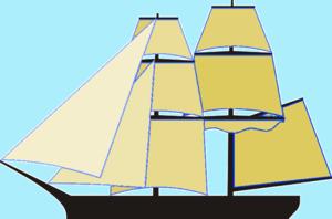 USS Oneida (1809) - Image: Brig 3