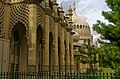 Brighton - Palace Place - View North on Royal Pavilion 1823.jpg