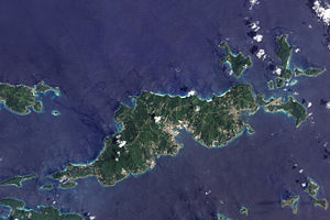 islands Landforms of the virgin