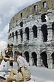 British soldiers visit the Colosseum while on leave in Rome, June 1944. TR1960.jpg