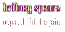 Description de l'image Britney Spears - Oops!... I Did It Again Album Logo.png.