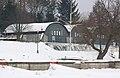 Brno, Brněnská přehrada (vypuštěná), lodní sporty Brno.JPG