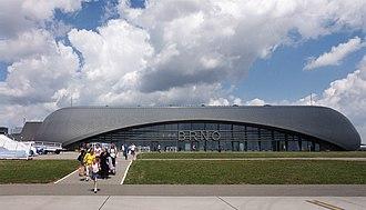 Brno–Tuřany Airport - Image: Brno departure terminal