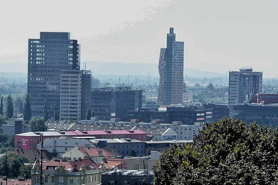 Brno mrakodrapy