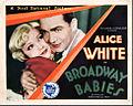 Broadway Babies 1929 lobby card.JPG