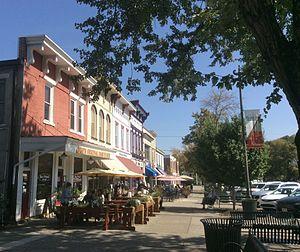 Granville, Ohio - Granville streetscape