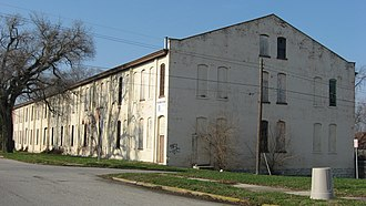 National Register of Historic Places listings in Decatur County, Indiana - Image: Bromwell Wire Works with blue sky