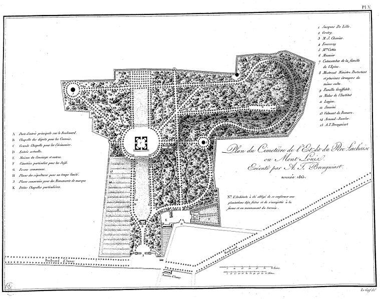 File:Brongniart - Plans du Palais de la Bourse de Paris et du cimetière Mont-Louis, V.jpg