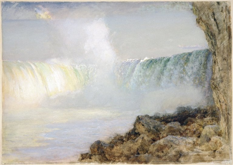 Brooklyn Museum - Niagara Falls - Arthur Parton - overall