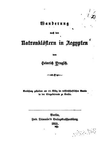 File:Brugsch Wanderung nach den Natronklöstern.djvu