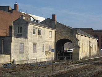 Goods shed - Former goods shed at Stroud, Gloucestershire designed by Isambard Kingdom Brunel
