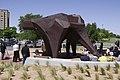 Bruno sculpture dedication TTU 2015.jpg