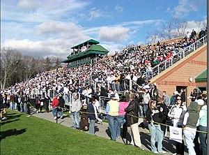 Bulldog Stadium (Bryant University) - Image: Bryantvwestchester