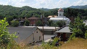 Bryson City, North Carolina - Image: Bryson city view nc 1