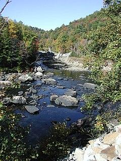 Tygart Valley River river in West Virginia