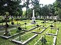 Bucuresti, Romania. Cimitirul Bellu Catolic. Locul cu mormintele Preotilor. Aici a fost ingropat si Episcopul Martir IOAN BALAN.jpg
