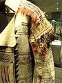 Buffalo-skin coat detail, Ojibwa, Ontario, Canada, c. 1789 - Nelson-Atkins Museum of Art - DSC09053.JPG