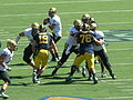 Buffaloes on offense at Colorado at Cal 2010-09-11 28.JPG
