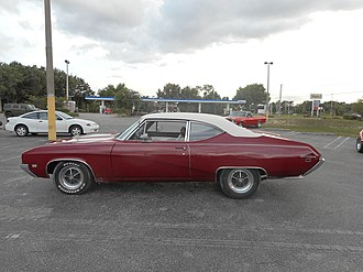 Buick Gran Sport - A rare GS California in a shopping center in Weeki Wachee, Florida.