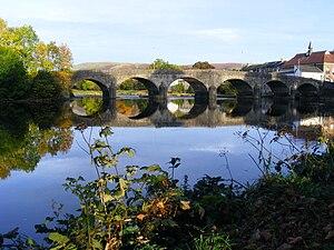 Llanelwedd - Image: Builth Wells bridge 01