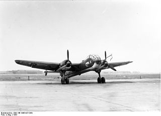 Bomber B Unsuccessful project aimed at producing a high-speed bomber for the Luftwaffe