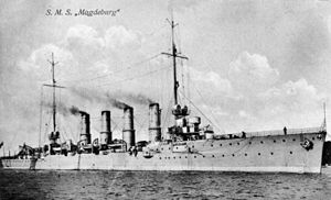 Magdeburg-class cruiser - Image: Bundesarchiv Bild 146 2007 0221, Kleiner Kreuzer Magdeburg