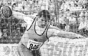 Jürgen Schult - Schult in 1988