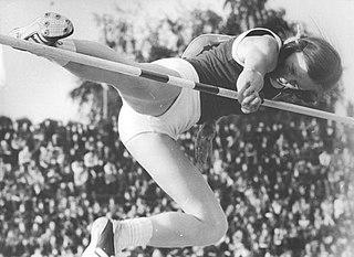 Rosemarie Ackermann East German high jumper