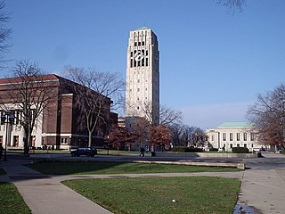 historic district consisting of a group of major buildings on the campus of the University of Michigan in Ann Arbor, Michigan