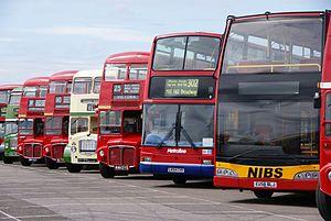 Bus lineup, 2010 North Weald bus rally.jpg