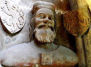 John Henry, Margrave of Moravia - Bust of John Henry, St. Vitus Cathedral, Prague