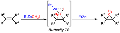 The butterfly TS for the Barbier reaction