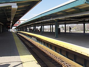 Broadway Junction (New York City Subway) - Image: Bway junction L