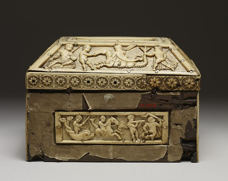 File:Byzantine - Casket with Images of Cupids - Walters 71298 - Back.jpg