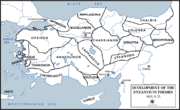 Byzantine Empire Themata-950