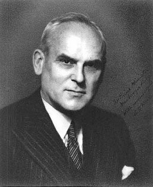 Minister of Transport (Canada) - Image: C.D. Howe, wartime