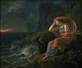 C.G. Kratzenstein Stub - Alkyone venter forgæves sin bortrejste ægtefælle - KMSsp888 - Statens Museum for Kunst.jpg