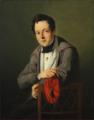 C. A. Schleisner -Portræt af teatermaleren C. F. Christensen.png