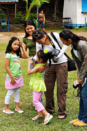 Autism friendly - Image: CDP Images Workshop children with autism