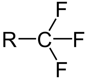 Trifluoromethyl - Image: CF3 group